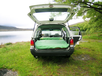 Backpacker Campervan New Zealand