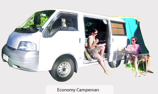 Budget Campervan Rental New Zealand
